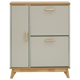 Nordica Two Tier 1 Door Shoe Cabinet