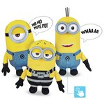 more details on Despicable Me 3 Deluxe Plush Buddies Assortment.