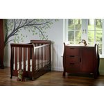 more details on Obaby Stamford Mini 2 Piece Room Set - Walnut.