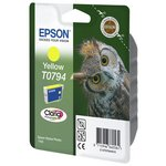 more details on Epson T0794 Owl Standard Ink Cartridge - Yellow.