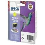more details on Epson T0804 Hummingbird Standard Ink Cartridge - Yellow.