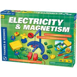 Thames and Kosmos Electricity and Magnetism Kit.