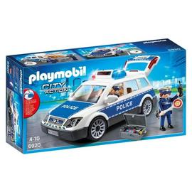 Playmobil 6920 City Action Police Car with Lights and Sounds