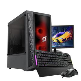 Stormforce Onyx i5 16GB 480GB GTX1660S Gaming PC & Monitor