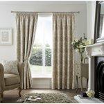 Curtina Ashford Lined Curtains - 168x183cm - Natural