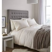 Catherine Lansfield Lace Band Cream Bedding Set - Single