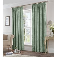 Fusion Eastbourne Lined Curtains - 117x183cm - Duck Egg