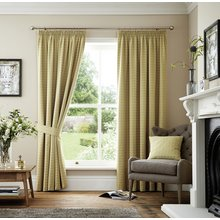 Curtina Marlowe Lined Curtains - 168x229cm - Natural
