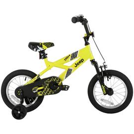 Jeep Yellow 14 Inch BMX Bike