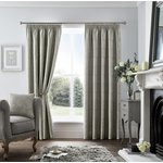 Curtina Ashford Lined Curtains - 229x229cm - Dark Grey