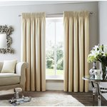 Curtina Rimini Lined Curtains - 168x229cm - Natural