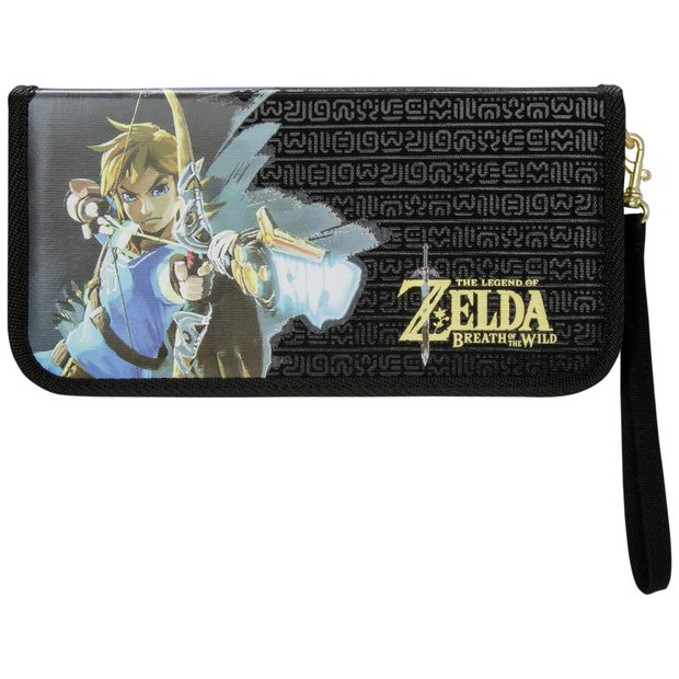 buy nintendo switch zelda zipper case at. Black Bedroom Furniture Sets. Home Design Ideas