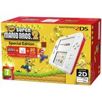 more details on Nintendo 2DS White & Red Console with New Super Mario Bros 2