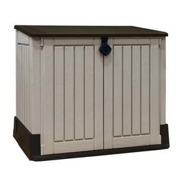 Keter Store It Out Midi 845L Storage Shed - Beige/Brown