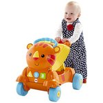 more details on Fisher Price Stride to Ride Tiger Ride On.