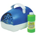 more details on Cheetah Party Time Battery Operated Bubble Machine - Blue.