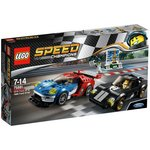 more details on LEGO 2016 Ford GT & 1966 Ford GT40 - 75881.