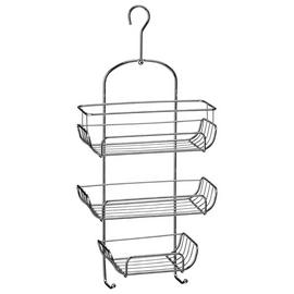 Premier Housewares 3 Tier Shower Caddy - Chrome.