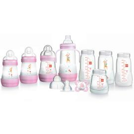 MAM Easy Start Anti-Colic Small Bottle Set - Pink