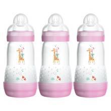 MAM Easy Start Anti-Colic 260ml Bottle 3 Pack - Pink