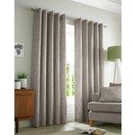 Academy Eyelet Curtains - 117x137cm - Natural