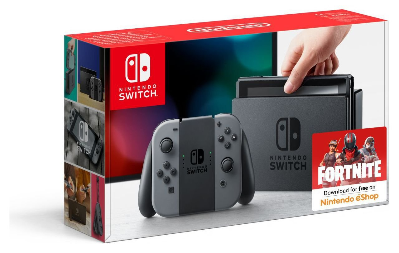 Nintendo Switch Accessory Set with screen protector and case