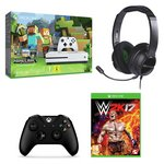 more details on Xbox One S 500GB Console Minecraft and WWE 2K17 Bundle.