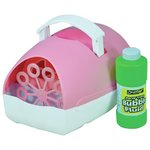more details on Cheetah Party Time Battery Operated Bubble Machine - Pink.