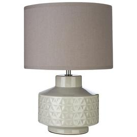 Waverly Ceramic Table Lamp - Grey