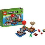 more details on LEGO Minecraft The Mushroom Island - 21129.