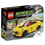 more details on LEGO Speedchamps Chevrolet Corvetter Z06 - 75870.