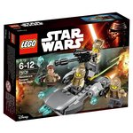 more details on LEGO Star Wars Resistance Trooper Battle Pack - 75131.
