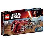 more details on LEGO Star Wars: The Force Awakens Rey's Speeder - 75099.