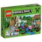 more details on LEGO Minecraft The Iron Golem - 21123.