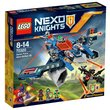 more details on LEGO Nexo Knights Aaron Fox's Aero-Striker - 70320.