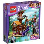 more details on LEGO Friends Adventure Camp Tree House Playset - 41122.
