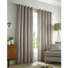 Academy Eyelet Curtains - 229x183cm - Natural