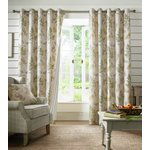 Sycamore Eyelet Curtains - 117x229cm - Sage