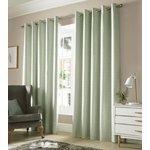 Monaco Eyelet Curtains - 165x137cm - Sage