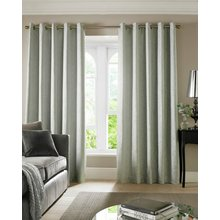 Cairo Eyelet Curtains - 229x229cm - Duck Egg