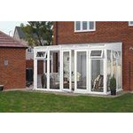 more details on Traditional Full Height Small Lean to Conservatory - White.