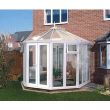 buy edwardian dwarf wall medium conservatory white at. Black Bedroom Furniture Sets. Home Design Ideas
