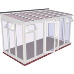 more details on Traditional Full Height Large Conservatory-White.