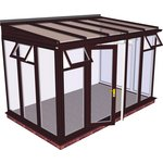 more details on Traditional Full Height Extra Large Conservatory - White.