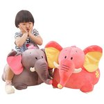 more details on Plush Pink Elephant Ride On.