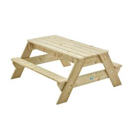 TP Deluxe Wooden Picnic Table and Sand Pit Set