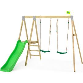 TP Forest Wooden Swing Set and Slide
