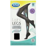 more details on Scholl 60 Denier Black Fibre Firm Tights - Extra Large.