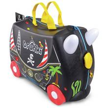 Trunki Pedro the Pirate Ride-On Suitcase - Black