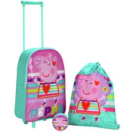 Peppa Pig 3 Piece Kids Luggage Set